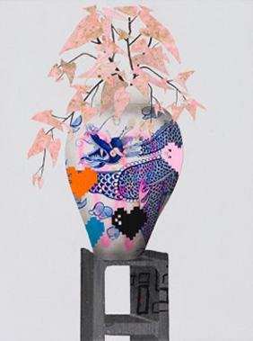 Erik Benson – 8 Bit Dragon Vase